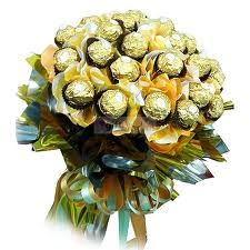 Chocolate in a bouquet